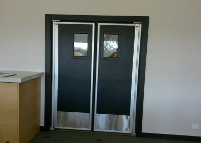 Traffic Doors into Kitchens