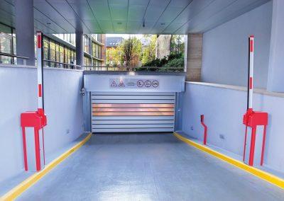 Carpark Entrance High Speed Door