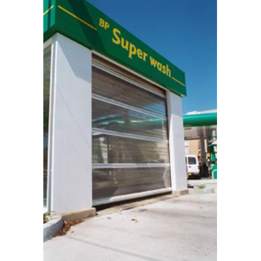 BP Carwash Rapid Door