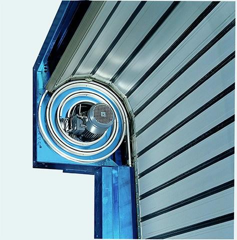 Spiral Detail for Efaflex Door