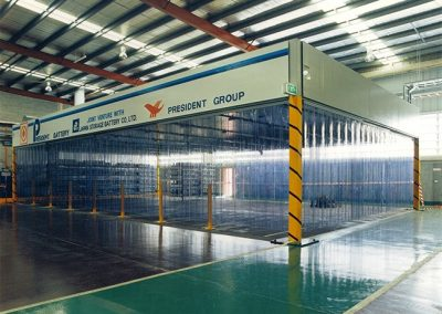 Fume Control Strip Curtain