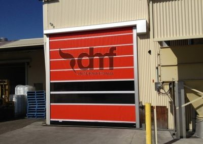 High Speed Roll Door external