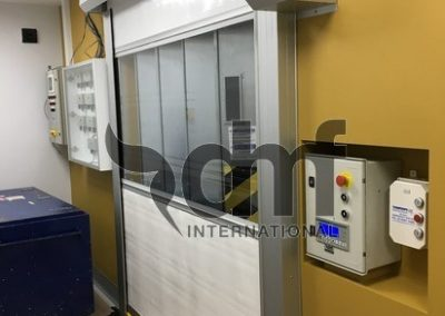 High Speed Roll Door to Lift