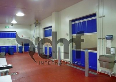 High Speed Roll Doors Meatworks