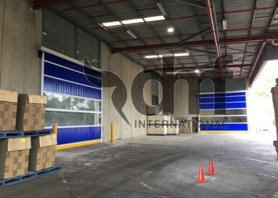 High Speed Roll Doors Warehouse