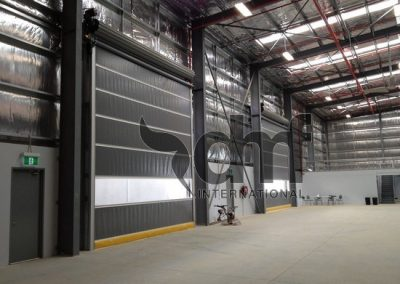High Speed Roll Doors Warehousing