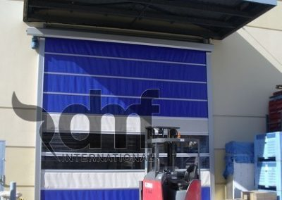 High Speed Roll Doors with Ventilation