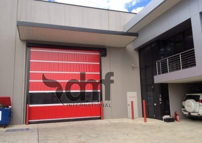 High Speed Roll Doors powdercoated