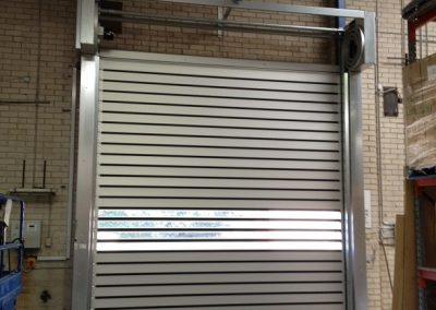 Slow to fast, replacing a roller shutter with an Efaflex