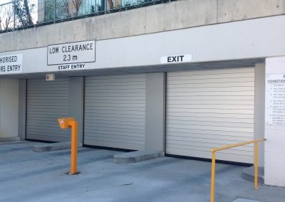 High speed doors for Govt carparks
