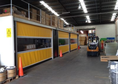 Rapid Roll Doors for Mezzanine