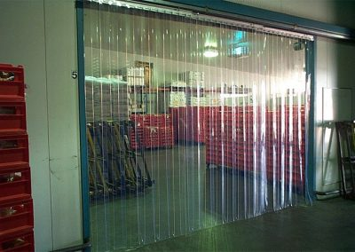 Food Processing PVC Strip Curtain