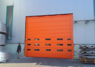 Industrial Fold Up Doors