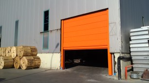 Large Industrial Fold Up Doors