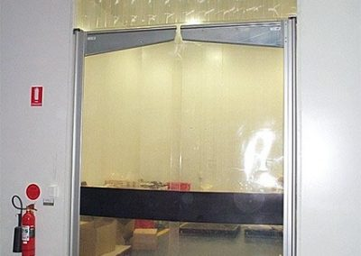Plastic Swing Door Transom Flap
