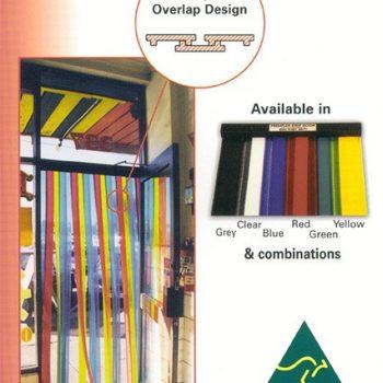 Coloured Strip Curtain