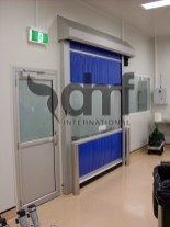 Rapid Roll Door in Clean Room