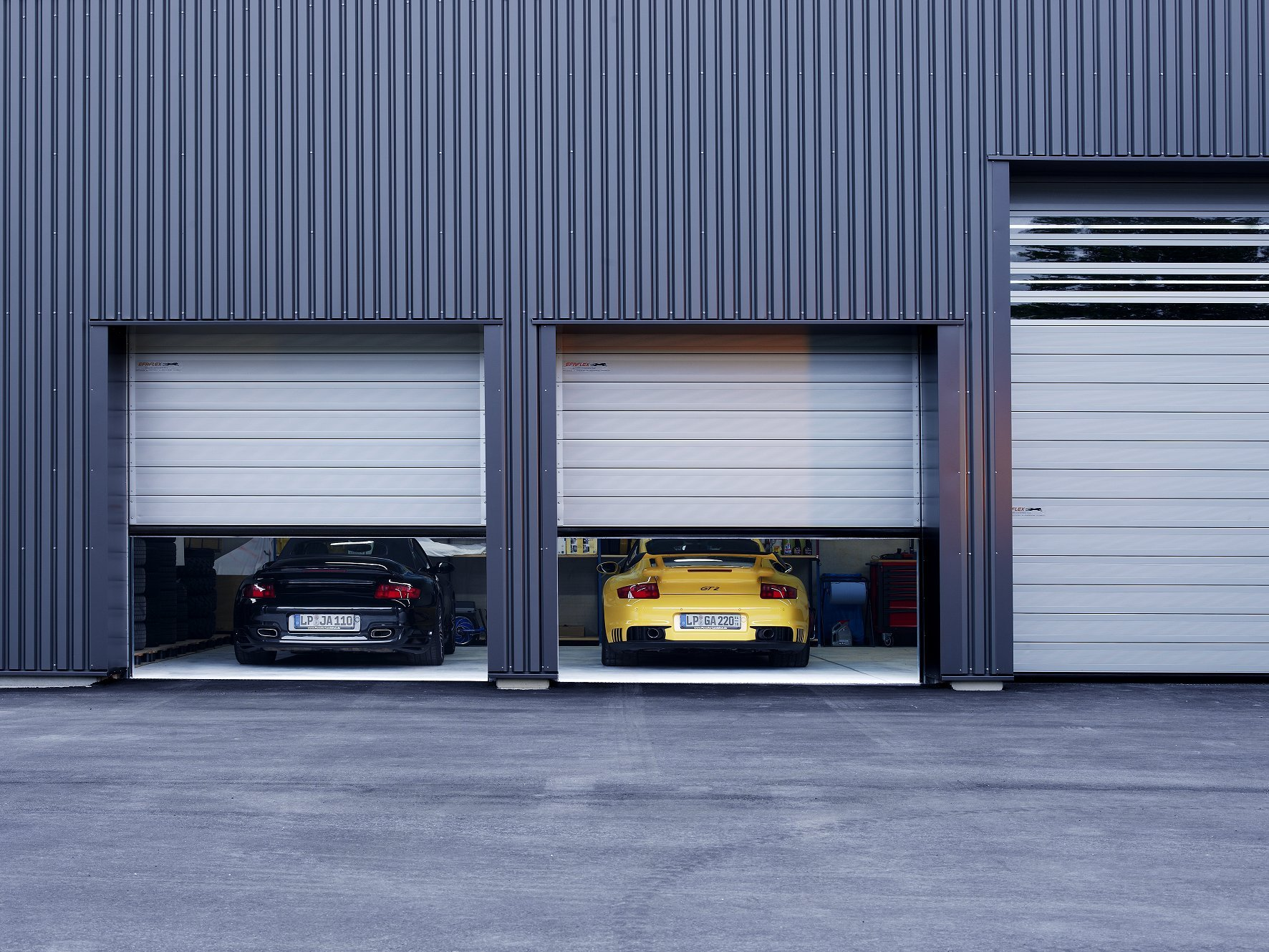 Car Workshop High Speed Doors