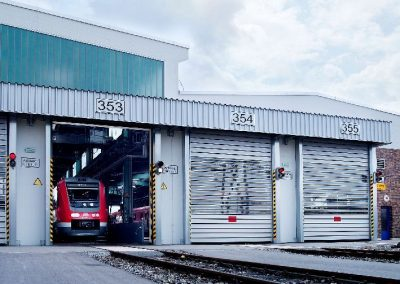 Train Access High Speed Door