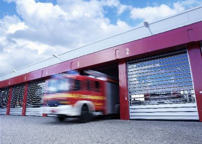 Emergency Services High Speed door