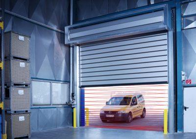 Car Park High Speed Door Safety