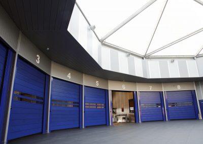 Modern Car Service Centre with High Speed Doors