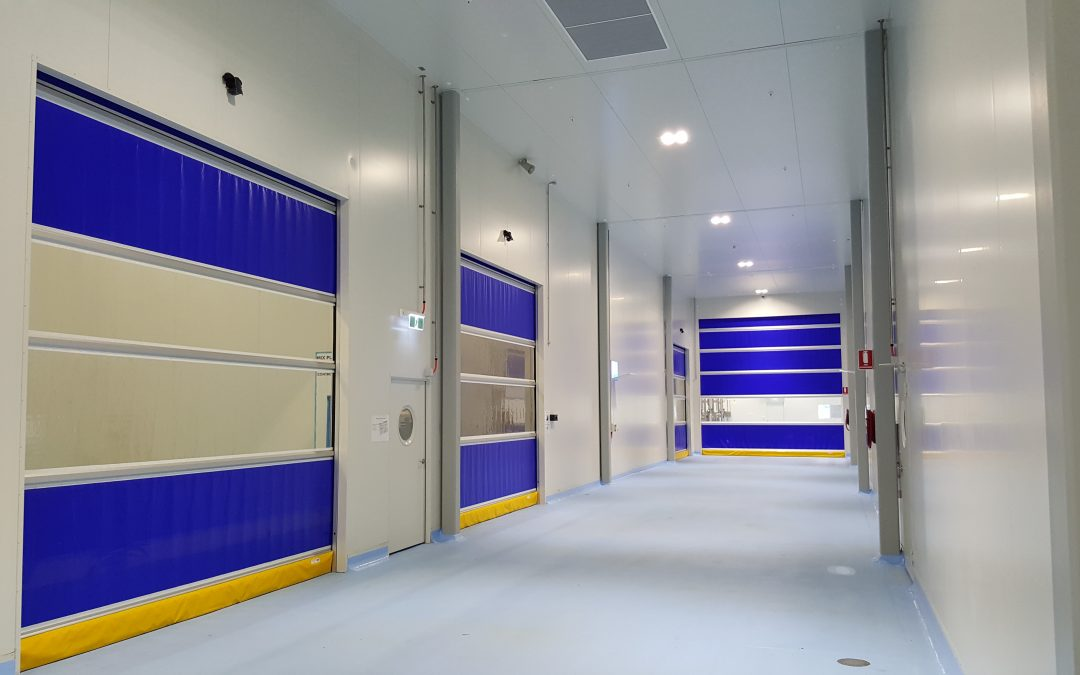 High speed doors in food processing