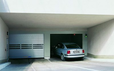 High speed doors in carparks