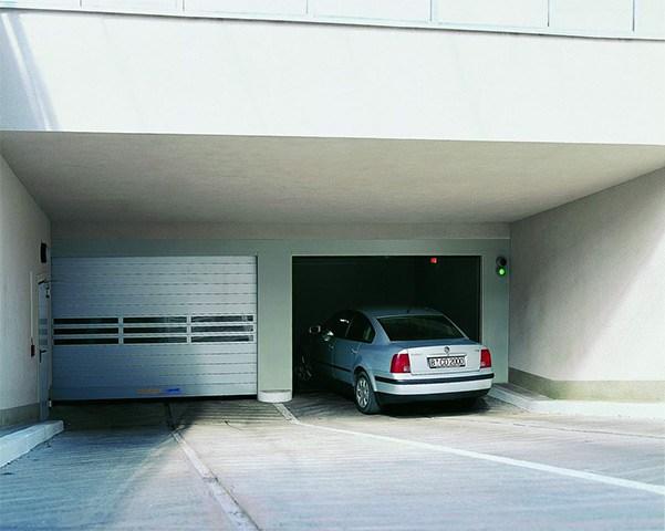 High speed doors in carparks