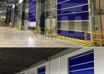 DMF Warehouse doors