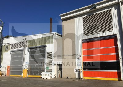 DMF high speed doors processing plant