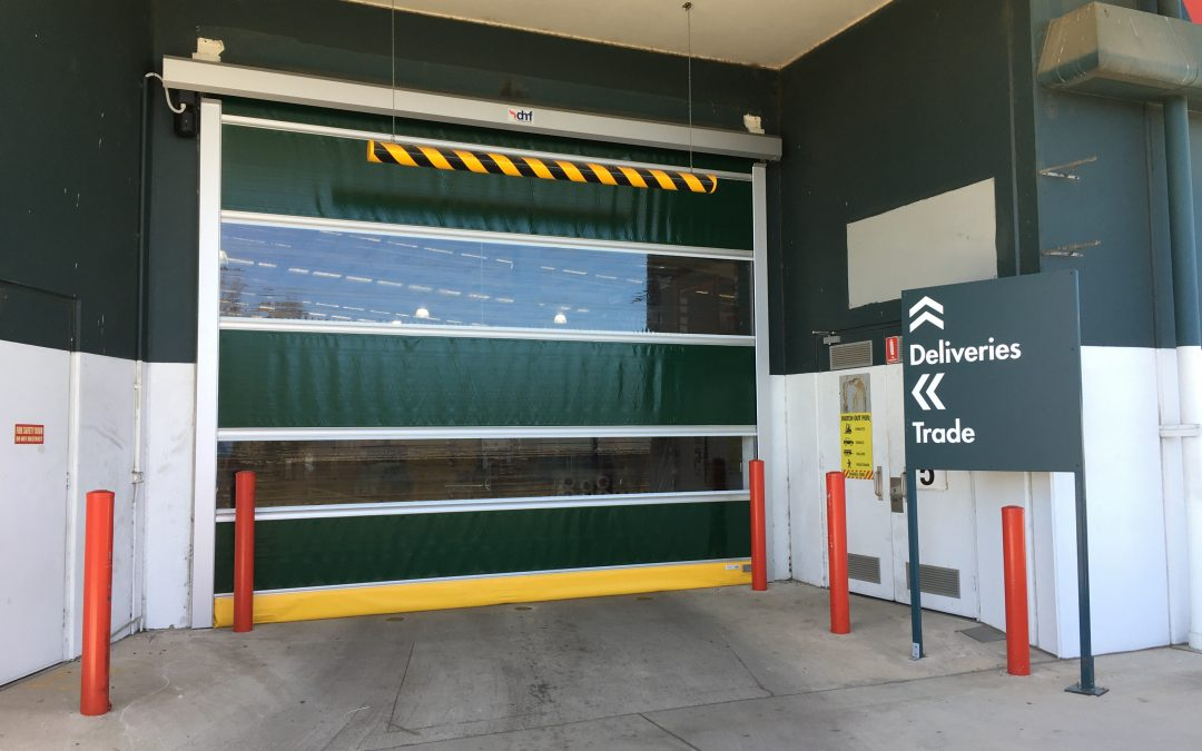 Bunnings chooses DMF Rapid Roll doors