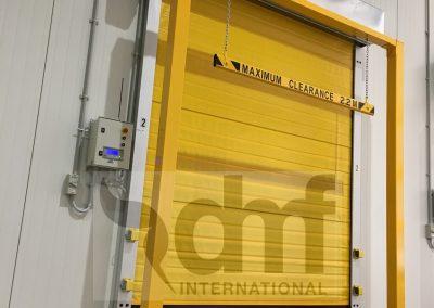 Coldsaver high speed door AWM