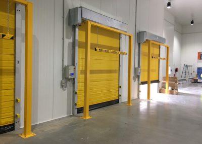 Coldsaver high speed door loading dock
