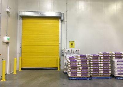 DMF Coldaver high speed door cgiller to freezer