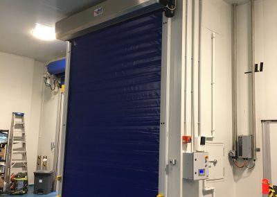 DMF Coldaver high speed door chiller room
