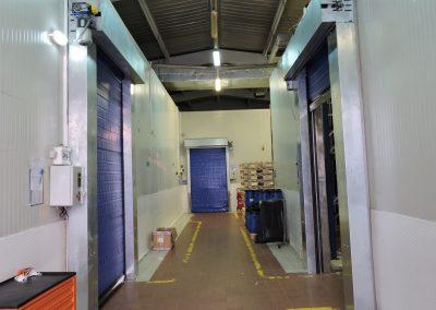 Coldsaver doors in freezers