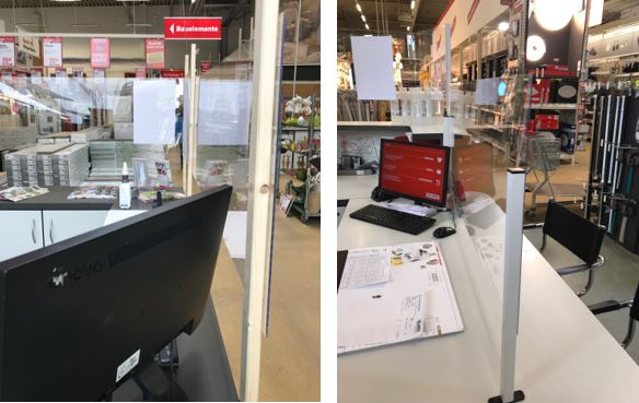 COVID-19 PVC screens