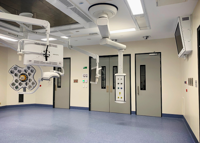 Hygienic Lead Lined X-Ray GRP Doors