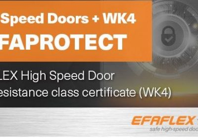 New Efaflex SST Secure Door