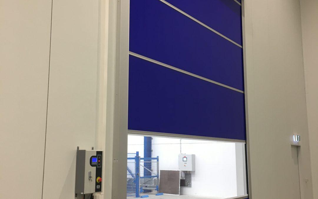 New RL3000Servo Rapid roll door