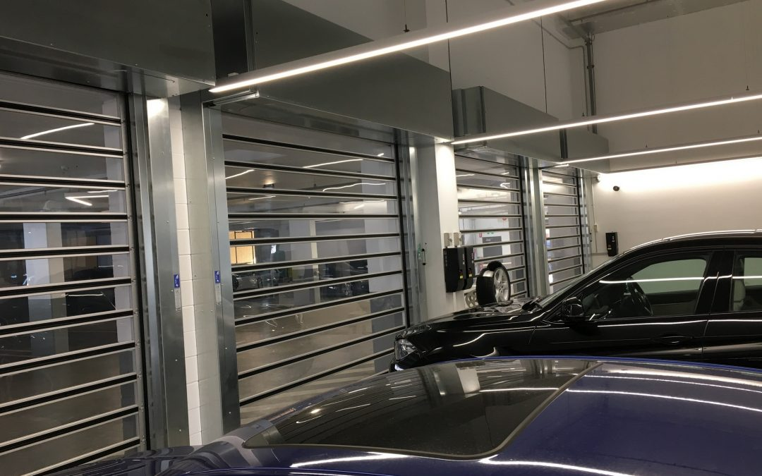 Efaflex High speed doors for BMW